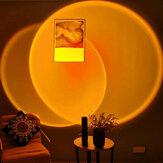 Sostituibile lente Tramonto lampada Illuminazione nordica per interni LED Pavimento lampada Soggiorno Camera da letto Decorazione atmosfera Luci da pavimento Lampada da terra lente Per casa