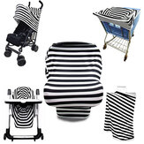 Multi-Use Stretchy Stroller Car Seat Cart Cover Nursing Scarf Breastfeeding Cover