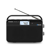Panda 6215 AM FM Semi-conducteur Radio Portable Bluetooth Haut-Parleur Support TF Carte Lecteur MP3