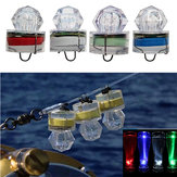 ZANLURE 1PC LED Deep Sea Diamond Night TORCIA lampada Subacquea Mini trasparente che attira la luce