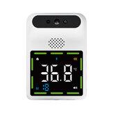 Бесконтактный IR Инфракрасный Термометр Лоб Настенный LCD Цифровой Высокоточный Термометр С сигнализацией температуры