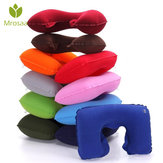 U-Shape Neck Travel Pillow Folding Neck Air Cushion