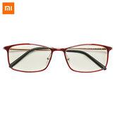 Xiaomi Mijia Anti-Blue szemüveg UV-fáradtságbiztos szemvédő Xiaomi Mi Home 40% anti-kék sugárvédő szemüveg - piros