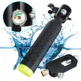 Mini Scuba Diving Cylinder Sauerstofftank Tauchausrüstung W / Air Adapter Atemventil Armaturen Set