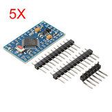 5Pcs Pro Mini ATMEGA328P Módulo de placa de desenvolvimento 3.3V 8M Interactive Media Geekcreit para Arduino - produtos que funcionam com placas Arduino oficiais