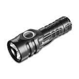 Lanterna Mini EDC WUBEN E6 KW CSLPM1.TG 900LM com 14500 Bateria 410m Mini tocha ajustável de 5 modos LED Lâmpada de bolso com luz de clipe