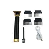 Zestaw do golarki elektrycznej dla mężczyzn Niski poziom hałasu Ładowanie przez USB Wodoodporny zestaw do rozdrabniania włosów z 4 grzebieniami ograniczającymi