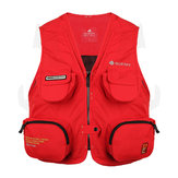 L-XXXL IPX4 Waterproof Fishing Vest Outdoor Safety Life Jacket Boat Drifting Survival Vest