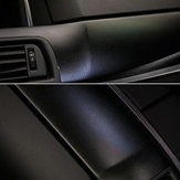 30cm×150cm Black Leather Texture Car Stickers Vinyl Wrap Car Inner Decal Film