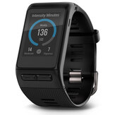 Garmin vívoactive HR Touch screen GPS Smart Watch con base a polso Cuore Rate 5 ATM Black
