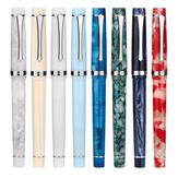 Penbbs 352 penna stilografica in resina 0,5 mm F pennino rotante inchiostrazione scrittura penna firma regalo forniture scolastiche per ufficio