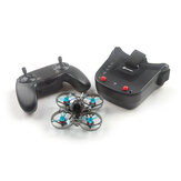 Eachine Novice-I 75mm 1-2S Whoop FPV Racing Drone RTF & Fly more w/ WT8 2.4G Transmitter 5.8Ghz 40CH VR009 / VR005 Goggles