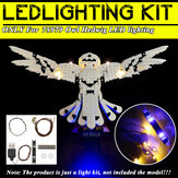 DIY LED Light Lighting Kit ONLY For Lego 75979 Owl USB Powered Blocks Bricks
