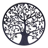 Round Wall Hanging Decorations Diameter 60cm Tree of Life Iron Art Home Hanging Ornament