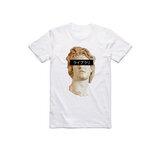 半袖Oネック面白いVaporwaveグラフィックプリントTシャツ