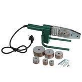 220V 4 Yuvalı Elektrikli Boru Kaynak Makinesi Isıtma Parçalar PPR PB PE Plastik İçin Kafa Seti