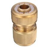 1/2 Inch Messing Water Tap Slang Pijp Connector Snelkoppeling Adapter Met Water Stop