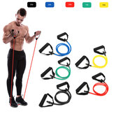 1Pc 10/15/20/25/30lb Fitness Resistance Bands Fitness Elastic Bands Training Yoga Pilates Bands