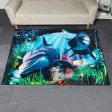 Yunus Deniz Dünyası Alanı Zemin Halı Halı Yatak Odası Oturma Odası Ev Dekorasyonu için