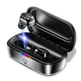 BaseusW01TWSDraadlozebluetooth5.0 Oortelefoon HiFi 6D Stereo DSP Noise Cancelling Bilaterale oproep Hoofdtelefoon met 2000mAh Oplaaddoos