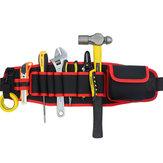 Électriciens ceinture réglable poche ceinture outil sac pochette main réparation outil organisateur