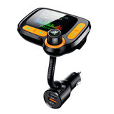 C86 QC3.0 Schnellladegerät Surpport 64GB USB MP3 Player Car Satz Freisprecheinrichtung Bluetooth FM Transmitter TF AUX Audio Receiver