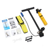 0.5L SCUBA Mini Oxygen Cylinder Air Tank Diving Reserve Air Tank Hand Pump