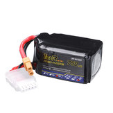 Tiger Power 14,8V 750mAh 75C 4S XT30 Wtyczka Lipo Bateria do RC FPV Racing Drone