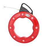 3 mm x 30 M Glasvezeldraad Kabel Fish Snake Tape Puller Duct Conduct Rodder Reel