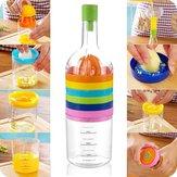 Многофункциональная кухня 8 в 1 Инструмент Измельчитель гаджетов для соковыжималки в форме бутылки