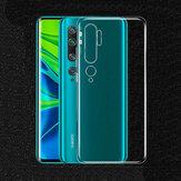 BAKEEY Crystal Clear Transparent Ultra-thin Soft TPU Protective Caso para Xiaomi Mi Note 10 / Xiaomi Mi Note 10 Pro / Xiaomi Mi CC9 Pro
