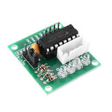 5pcs ULN2003 Stepper Motor Driver Board Test Module For AVR SMD Geekcreit for Arduino - products that work with official Arduino boards