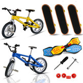 Finger Bike Bicycle And Skateboard Kids Children Wheel Toys Gifts