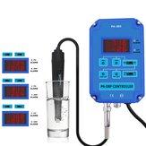 2 en 1 Numérique PH ORP Redox Contrôleur Moniteur Moniteur de Qualité D'eau Testeur BNC Type Sonde Électrode Remplaçable