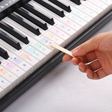 Debbie QT-005 Piano Keyboard Note Sticker for 61/88 key Electronic Keyboard