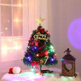 Sobremesa Artificial Pequeño Árbol de Navidad Artificial Encendido LED Decoraciones interiores