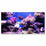 Coral HD Acquario Sfondo Poster Fish Tank Decorations Landscape Self
