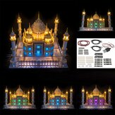 DIY LED Light Lighting Kit ONLY USB For LEGO 10256 Taj Mahal Bricks Toy