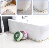 3.2M Impermeable Cinta de sellado Cinta autoadhesiva Cinta a prueba de moho para cocina Cuarto de baño Esquina de la pared del inodoro