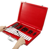 25 Notes Wooden Glockenspiel Xylophone Educational Musical Instrument Percussion Gift for Children