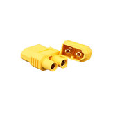 20pcs Amass XT60-E Connector XT60 Male Plug To EC3 Female Converter Adapter Plug for RC Drone Battery