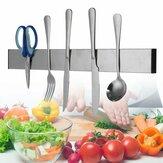 Стойка для магнитных кухонных ножей из нержавеющей стали Органайзер