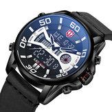 KADEMAN K6171 Multifunction Waterproof Dual Display Watch