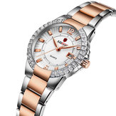 KADEMAN 826L Stainless Steel Strap Women Quartz Watch