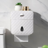 Waterproof Wall-mounted Tissue Box Multi-function Storage Toilet Paper Shelf Holder Bathroom Accessories