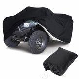 Quad Bike ATV ATC Cubierta antipolvo Impermeable Tamaños L Negro