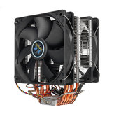 3 Pin 2 Fan 4 Heatpipes CPU Cooling Fan Cooler Radiator dla Intel 775 1150 1151 AMD