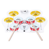 Electronic Drum Speakers Set Rollup Musical Pedals Digital Instruments Kits