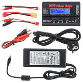 HTRC B6 V2 80W 6A DC 1-6S Battery Balance Charger Discharger Black With Power Supply