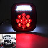 Car Tail Stop Brake Light Turn Signal Lamp Reverse License Light 301927298999 39 LED for Jeep/Truck Trailer/Boat